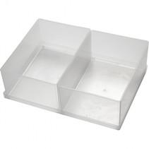 inzetbox BA6-1 voor opslagbox 157x109x80 mm