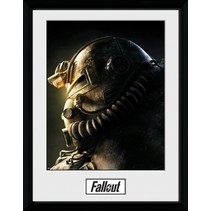 poster in lijst Fallout 76 T51B 30 x 40 cm