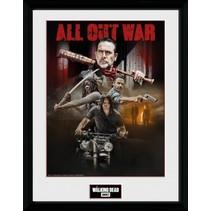 poster in lijst The Walking Dead seizoen 8 30 x 40 cm