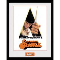 poster in lijst Clockwork Orange Key Art 30 x 40 cm