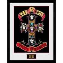 poster in lijst Guns 'n Roses Appetite 30 x 40 cm