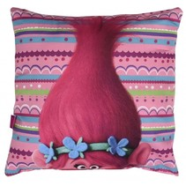 Trolls kussen roze 40 x 40 cm