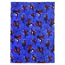 fleece-deken Spider-Man 120 x 160 cm blauw
