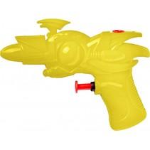 waterpistool 19 cm geel