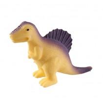 kneedfiguur Spinosaurus 11 cm paars/geel
