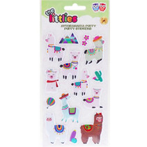 stickers Puffy lama junior 22 cm vinyl