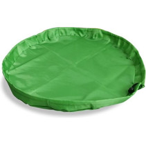 speel- en opbergkleed Join Clips polyester groen