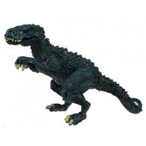 speelfiguur tyrannosaurus junior 11 cm blauw