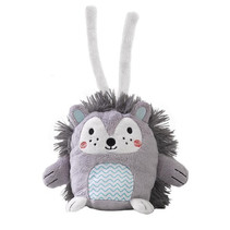 knuffel Spike Emotimals 30 x 20 cm grijs/wit