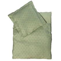 poppendeken Mint 50 x 43 cm katoen groen 2-delig