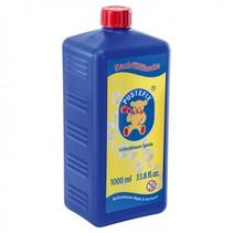 navulfles bellenblaassop 1000 ml blauw