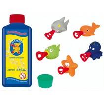bellenblaasset 250 ml blaasringen zeedieren 7-delig