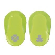 figuurpons 2 stuks 5 cm groen