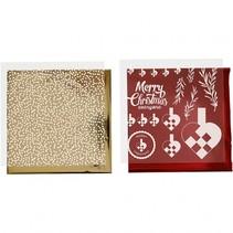 decoratieset folie en transfervellen kerst 4 vellen