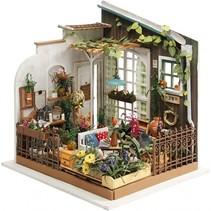 DIY Miniatuur Gardenroom knutselset 21 x 19 cm