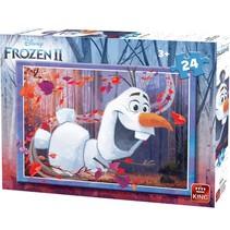 legpuzzel Disney Frozen II junior 24 stukjes (A)