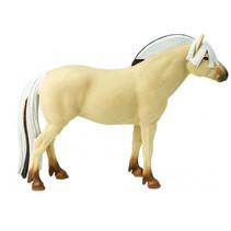 speelfiguur Noors fjordpaard junior 12 cm beige