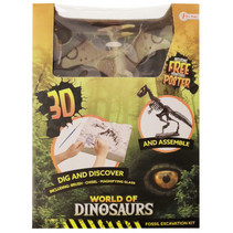 opgraafkit World of Dinosaurs pteranodon gips 5-delig