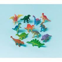 Mini-dinosaurussen 12 stuks