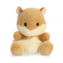 knuffel Palm Pals hamster bruin 13 cm