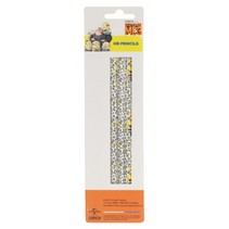 Minions HB potloden wit/ geel 18 cm 3-delig