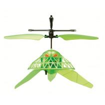 drone Hovering Horor 14 cm groen 2-delig