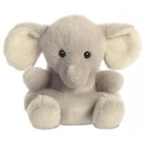 knuffel Palm Pals olifant junior 13 cm pluche grijs