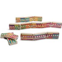 Domino Treinen hout 29-delig