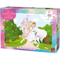 legpuzzel Married at the Castle meisjes karton 50-delig