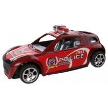 politieauto rood 15 cm