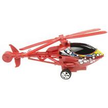 helikopter Graffiti jongens 15 cm rood