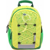 rugzak kikker junior 6,5 liter polyester  groen