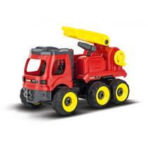 brandweerwagen RC First 25,4 cm rood/geel/zwart
