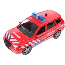 Super Cars 112 brandweerauto met licht en geluid 13 cm