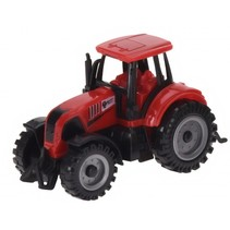 tractor 10,5 cm rood