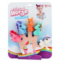 vingerpoppenset Dream Horse meisjes 5-delig