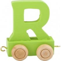 treinletter R groen 6,5 cm