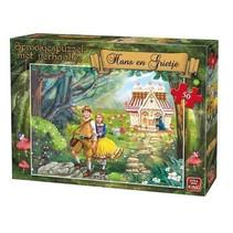 legpuzzel Hans en Grietje junior karton 12 stukjes