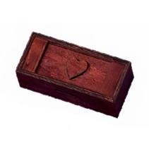 schuifpuzzel geheimen doos junior 15 cm hout taupe