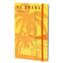 notitieboek Honolulu 13 x 21 cm papier geel