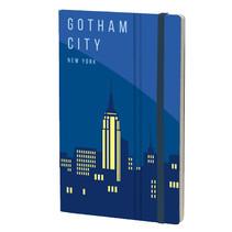 notitieboek New York 13 x 21 cm papier blauw