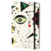 notitieboek Joan Miro 13 x 21 cm papier beige