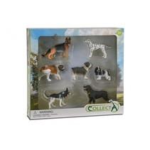 honden: speelset in giftverpakking  7-delig