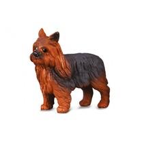 honden: Yorkshire Terrier 3 cm bruin speelfiguur