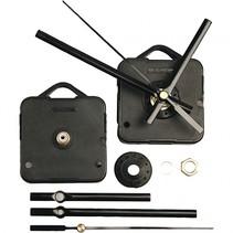 uurwerk 5,5 x 5,5 cm zwart plaatdikte 6 mm