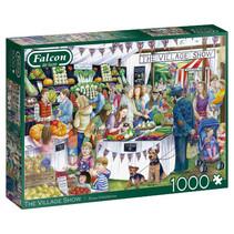 puzzel The Village Show 37 x 27 cm karton 1000 stukjes