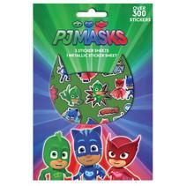 stickervellen PJ Masks jongens 14,5 x 21,5 cm 4 stuks