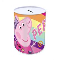 spaarpot Peppa Pig meisjes 10 x 15 cm multicolor