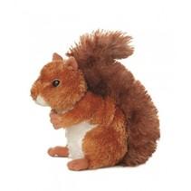Knuffel Mini Flopsie Nutsie eekhoorn 20.5 cm