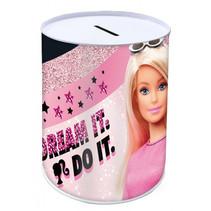 spaarpot Dream It meisjes 10 x 15 cm staal roze